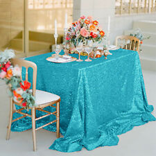 Wholesale New Sparkly Sequin Tablecloth Square For Wedding/ Dessert Table Decor