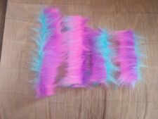 NEW---HORSE HALTER TUBES---Acrylic Fleece---Prevents Halter Rub---RAINBOW STRIPE