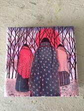 New listing Trail Of Three Art Tile 4x4 Really Cool Art Jeanne Rorex Bridges