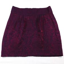 Silence + Noise Urban Outfitters Shiny Mini Skirt, Size 6