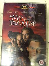 LEONARDO DICAPRIO GERARD DEPARDIEU The Man In The Iron Mask ~1998 UK DVD