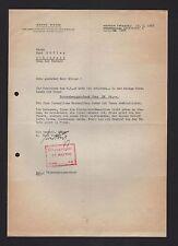 MINDEN, Brief 1942, Ernst Weiss Brennereien Strothmann