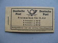 GERMANY ALL. OCC., booklet 1947 MNH, kontrollrat
