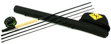Echo Base Kit 590-4 9' Ft #5 Wt 4 Pc Fly Rod Includes Reel, Line, Leader & Case