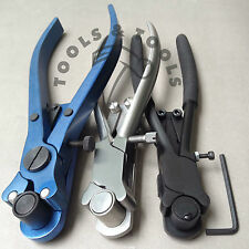 Set of 3 Piece Flat Stock Wire Shaping Ring Braclete Bending Pliers Jewelry Tool