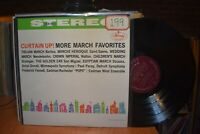 Barbirolli Dorati Fennell Paray Curtain Up! More March Favorites LP Mercury
