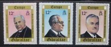 GIBRALTAR 1980 Europa Personalities. Set of 4. Mint Never Hinged. SG433/435.