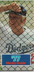 1977 LOS ANGELES DODGERS MLB MEDIA GUIDE VINTAGE FREE SHIPPING