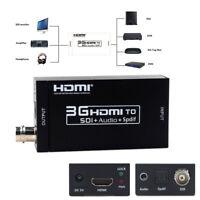 1080P HDMI To SDI Converter Adapter Coaxial Cables Video Audio HDMI Extender