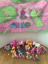 My Little Pony & Play Mat Lot of 26 Ponies