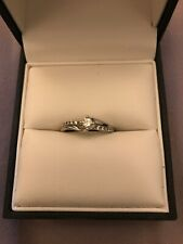 18ct gold diamond ring RRP £999