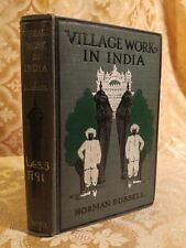 1902 Village Work in India Pen Pictures from Missionary Decorated Antique Book