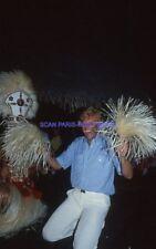 JOHNNY HALLYDAY 80s DIAPOSITIVE DE PRESSE ORIGINAL VINTAGE #310