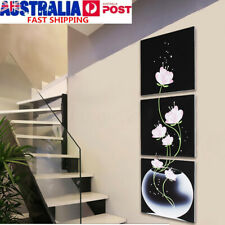 3Pcs Framed Modern Canvas Painting Abstract Art Picture Posters Print Wall Decor