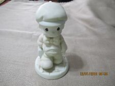 """Precious Moments """"Lord Help Me Make The Grade"""" Vintage 1987 #106216"""