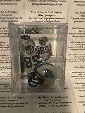 Steve Smith Carolina Panthers Mini Helmet Card Display Collectible Case Auto