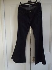 Gents flared denim jeans. Dark blue. Size 34R. BNWT