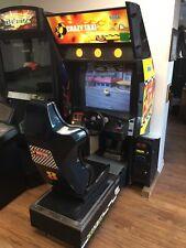 SEGA Crazy Taxi Sit Down Arcade Original Cabinet