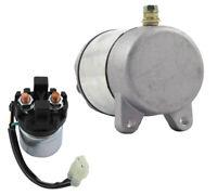 NEW STARTER & RELAY KIT FITS HONDA ATV TRX350TM 00-02 35850-HF1-670 35850HF1670