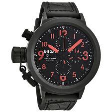 U-Boat Flightdeck Black Dial Automatic Mens Chronograph Watch 5412