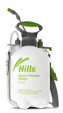 Hills Garden Pump Sprayer 5L Lawn Weed Liquid Fertiliser Animal Sanitisation