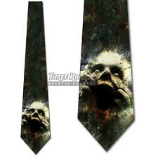 Trapped Ghoul Ties Halloween Tie Men's Ghost Scary Neck Ties NWT