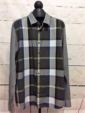 NWT $54 Gap Men's Long Sleeve Colorblock Cotton Shirt