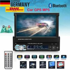 "7"" AUTORADIO 1 DIN MIT NAVI GPS MP5 MUSIC PLAYER TOUCHSCREEN BLUETOOTH USB SD"