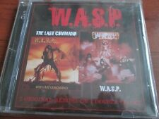 W.A.S.P. - Wasp / Last Command (2 CD Set)  NEW AND SEALED
