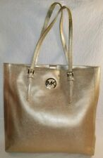 MICHAEL KORS Jet Set Travel Tote - Metallic Gold