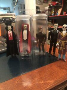 Lot Universal Studios Remco Figures 1980 Frankenstein Dracula Wolfman Phantom
