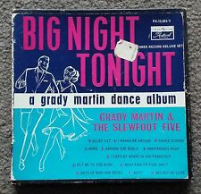 GRADY MARTIN - BIG NIGHT TONIGHT - OZ FESTIVAL LABEL 3 EP DANCE ALBUM BOX SET