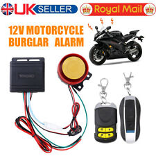 Anti-theft Motorcycle Motorbike Alarm Security Immobiliser Remote Control System