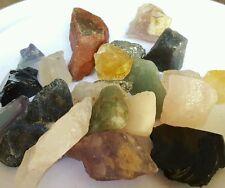 1Lb Lg Crafters rock collector Mix Lots Gems Crystals Natural Mineral Specimens