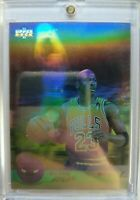 Spanish: 1992 92-93 UD Award Winner MICHAEL JORDAN Hologram #EB9 Insert!