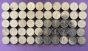 HUGE LOT 500 Chinese Yuans!!! 500x 1 Yuan Coins. Foreign Exchange, Collectables