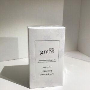 Philosophy Pure Grace 4oz Eau de Parfum Spray *Christmas Collection* NEW -Fresh