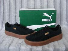 New Puma 365698 09 Black Suede Platform SD JR Juniors Trainers UK 4.5 1/2 37.5