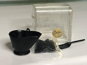Dollhouse Miniature Coal Scuttle Coal And Scoop Chrysnbon?