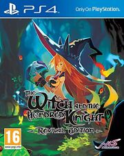 The Witch and the Hundred Knight: Revival Edition (PS4) - W/ ART BOOK NEW UK PAL