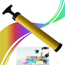 UK Black Yellow Compressed Storage Bag Air Extracting Vacuum Vacume Pump