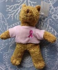"Avon Pink Ribbon Breast Cancer Crusade Bear 7"""