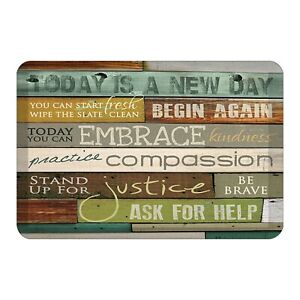 Laural Home New Day Floor Mat