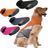 Wasserdicht Haustier Kleidung Hundejacke Wintermantel Regenmantel Weste Hund Neu