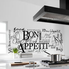 Kitchen Quote Wall Stickers Art Dining room removable vinyl decal  decoration