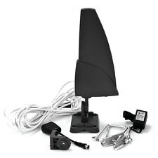 Outdoor Amplified 1080p Shark HD TV Antenna Universal HDTV/VHF/UHF 40-Mile Range