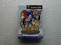 "Sonic Mega Collection + Special Card ""Good Condition"" Nintendo Gamecube Japan"