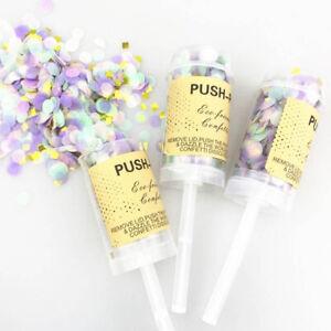 Multi Bulk Pack Confetti Paper Party Poppers Wedding Celebration Festival Decor