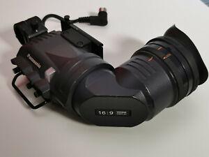 "Panasonic AJ-VF20WBP B&W Hi-Res Prof. Viewfinder für HPX 500 P2 16:9 Camera 2"""