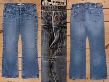 Gang Pantaloni Jeans Girl Slim Dritta Light Super Low Blue Demin Taglia 25 Short Cut 1a